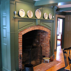 Traditional Fireplaces by Classic Colonial Homes, Inc.