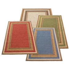 Multi-border All-weather Outdoor Rug - Grandin Road