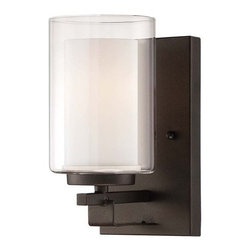 Minka Lavery - Minka Lavery 6101-172 1 Light Bathroom Sconce Parsons Studio Collection - Single Light Bathroom Sconce from the Parsons Studio CollectionFeatures:
