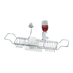 Taymor - Taymor Indulgence Bathtub Caddy - Indulgence Bathtub Caddy by Taymor