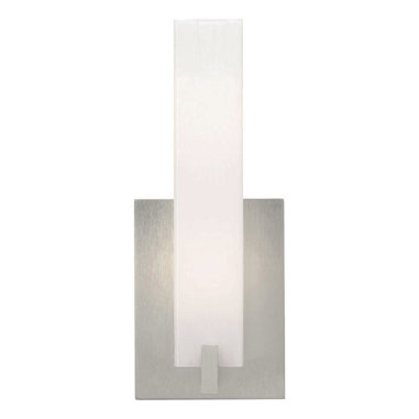 Cosmo Wall Sconce by Tech Lighting - Cosmo wall has a rectilinear glass diffuser in Frost White, Amber, Amber Frit or White Frit.