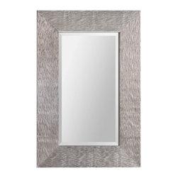 "Ren Wil - Ren Wil MT1402 Helen 36"" Rectangle Beveled Wall Mounted Mirror - Features:"