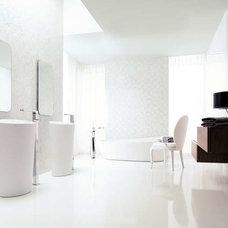 Modern Bathroom Ultra modern glamourized bathroom