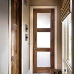 Sun Mountain - Contemporary Interior Doors -