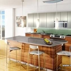 contemporary kitchen by Stone Park USA Inc
