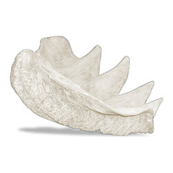 Amedeo Design, LLC - USA - Clam Shell Planter - Large - Our Clam Shell is truly unique and has tremendous versatility inside or out.