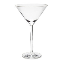 Ballard Designs - Set of 6 Milano Glassware - Martini - Extremely durable for everyday & frequent entertaining. Maintains clarity & sparkle. Resists chipping. Stems are proportioned for optimal stability. Dishwasher safe. Classic shapes made to endure. Our lead-free Milano Glassware is crafted of resilient, scratch-resistant Tritancrystal by world-renowned German glassmaker, Schott Zwiesel. The Martini Glass is shaped for dripless sipping and to feel elegant in your hand.Milano Glassware features:. . . . .
