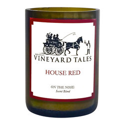 Vineyard Tales - House Red Wine Candle - Napa Valley's Wine Candle Factory - Our House Red candle has been delicately and arduously crafted with the best possible components to smell of a red wine blend! It's so good we keep the blend a secret. Feel confident that our House Red Wine candle will complement your home.