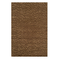 Momeni Rug - Momeni Rug Gramercy 5' x 8' GM-11 Brown GRAMEGM-11BRN5080 - The Gramercy Collection spans the gap between high end hand knotted rugs and the modern day desire for casual elegance. Featuring subtle designs and muted earth tones, these floor coverings lend relaxed grace and style to the home. A beautiful addition to any room, the Gramercy Collection is fashionable and graceful.