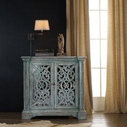 Hooker Furniture - Hooker Furniture Melange Artesia Chest 638-85077 - Come closer to Melange, and you will discover something unexpected, an eclectic blending of colors, textures and materials in a vibrant collection of one-of-a-kind artistic pieces.