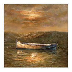 Bassett Mirror Company - Bassett Mirror Transitions Sunset Canoe Canvas Art - Sunset Canoe Canvas Art belongs to Transitions Collection by Bassett Mirror Company Bassett Mirror is fluent in this art, showing a terrific contemporary furniture that will satisfy on the one hand fans of home coziness, and on the other hand - seekers of non-standard design solutions also. One of the many strengths of the Bassett Mirror is using high quality materials for perfect embodiment of brilliant design ideas. Wall Art (1)