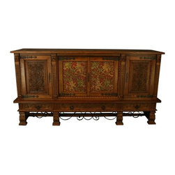 EuroLux Home - Massive Consigned Vintage French Oak Sideboard - Product Details