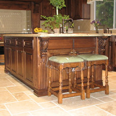 Traditional Kitchen Islands And Kitchen Carts by The Kueffner Company