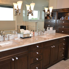 Contemporary Bathroom by Kylie M Interiors