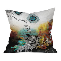 Iveta Abolina Frozen Dreams Outdoor Throw Pillow - Do you hear that noise? it's your outdoor area begging for a facelift and what better way to turn up the chic than with our outdoor throw pillow collection? Made from water and mildew proof woven polyester, our indoor/outdoor throw pillow is the perfect way to add some vibrance and character to your boring outdoor furniture while giving the rain a run for its money.