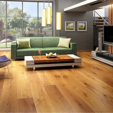 Modern Hardwood Flooring by Traditional Wood Floors & Millwork