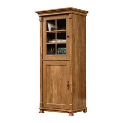 Sauder - Sauder French Mills Smartcenter Cabinet in American Chestnut - Sauder - Storage Cabinets - 413669 -
