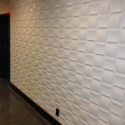 3D mdf wall panels and leather panels - Dimensional Wall Panels from Royal Stone & Tile in Los Angeles