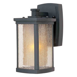 Maxim Lighting - Maxim Lighting 3152CDWSBZ Bungalow Bronze Outdoor Wall Sconce - 1 Bulb, Bulb Type: 100 Watt Incandescent