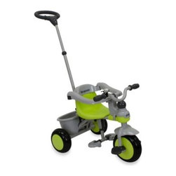 Joovy® - Joovy Tricycoo Tricycle in Green - Joovy Tricycoo Tricycle is perfect for children as young as 18 months. Durable steel frame supports children up to 44-pounds.