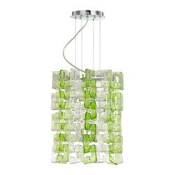 Cyan Design - Cyan Design Lighting - 05123 Glass Links For 04981 - Green - Cyan Design 05123 Glass Links For 04981 - Green