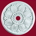 Esmeralda Ceiling Medallion - With its stunning floral and leaf detailing, the Esmeralda Ceiling Medallion is sure to be the finishing piece to your home.