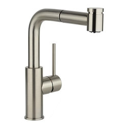 Elkay - Lf Pulldown Bar Faucet -37274- CR - Product height: 12. Product min width: 19.7. Product depth: 33.5lf pulldown bar fct -37274- cr a magnificent blend of traditional and contemporary themes, harmony sinks and faucets embody simplicity yet resonate sophistication. Featuring straight lines and rounded profiles, this family offers an unrivaled transitional geometry. Harmony pull-out bar / prep faucet deck mount pull-out spray