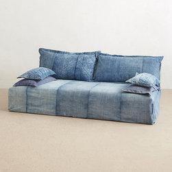 Reverse-Dyed Batik Sofas - Reverse-Dyed Batik Sofas