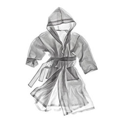 Linen Terry Robe - Although technically not considered a houseware, bathrobes can function perfectly well as a towel and clothes. This hooded robe is extremely classy, and I know that your carrara marble bathroom would look even better with this addition.