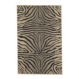 Ballard Designs - Zebra Belgique Indoor/Outdoor Rug - Cleans up with mild soap & water or rinse with a hose. Sizes are approximate. Imported from Belgium. Our all-weather Leopard Outdoor Rug lets you take Ballard indoor style outside. Machine loomed in a soft sisal weave of durable, UV protected 100% polypropylene so it defies the elements and resists fading and mildew. Serged on all sides for long, fray-resistant wear. Use of a Rug Pad is recommended.Belgique Indoor/Outdoor Rug features:. . .