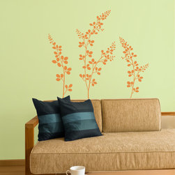 Smell The Flowers Vinyl Wall Decals - Always have a fresh flowers in your kitchen or bedroom by decorating any surface or wall the Smell The Flowers Vinyl Wall Decal from Wallternatives. Customize your floral arrangement by color and placement.