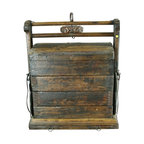 EuroLux Home - Consigned Antique Chinese Wedding Suitcase Chest of - Product Details