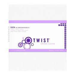 Twist - Twist European Sponge Cloths - making the switch to green Cleaning products? Then it's time to say inGoodbye,in to that roll of paper towels and bid inAdieu,in to that synthetic sponge that's made with chemical dyes and synthetic fillers.