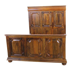 Montana Queen Bed - Limited edition Queen Size Bed. Classic design. Solid Wood construction throughout. No veneers. You don't want to miss this opportunity.  Dressers and nightstand sold separately unless purchased in the Bed Set.