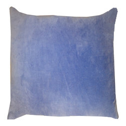 JITI - Violet Velvet Pillow - Who can resist a classic? With this velvet throw pillow, available in oodles of sizes and colors, you won't have to! Ideal for mixing and layering, go ahead and experiment. Change your look as often as you can move this one here, and that one there. Anywhere it lands, it's a perfect fit.