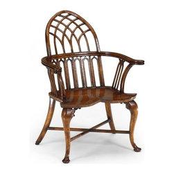 Jonathan Charles - New Jonathan Charles Wine Chair Walnut - Product Details