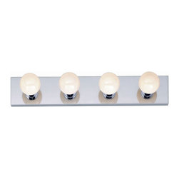 "Nuvo Lighting - Nuvo Lighting 77/193 Four Light 24"" Bathroom Bar Light, in Polished Chrome Finis - Nuvo Lighting 77/193 Four Light 24"" Bathroom Bar Light, in Polished Chrome FinishNuvo Lighting 77/193 Features:"