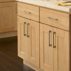 """Findley & Myers Soho Maple Kitchen Cabinets - Sophisticated yet comfortable. North American Maple is a distinct hardwood which is harder than oak but has a light, clean appearance. The clean lines of these shaker style doors along with the beauty of the soft grains of the maple make this a great selection for your new kitchen. The Findley & Myers Soho Maple collection features real, solid Maple Hardwood doors, frames, and drawer fronts (no melamine), 21"""" self-closing drawers, shaker-style doors, UV scratch resistant coating, finished interiors and European door hinges and hardware."""