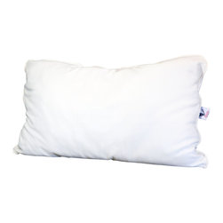 Malpaca - Malpaca Pillow, Natural White, Queen, Medium Fill - Created as a safe alternative to the normal bedding fabrics that contain fire retardants and insecticides, Malpaca Pillows are Certified Made in the USA of 100% natural alpaca fiber. Available in four sizes and three fill options, Malpaca Pillows offer the size and firmness options to provide the perfect sleep; whether you prefer the traditional softer, flatter pillow or the popular firmer contemporary option.