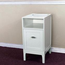 Bellaterrra - Bellaterra 7711 16 In Cabinet-Wood-White - 16x20x32.3 in. - Bellaterra 7711 16 In Cabinet-Wood-White - 16x20x32.3 in.