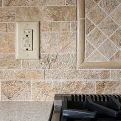 traditional kitchen tile by 'g' Green Design Center