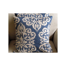 Designer Pillows and Custom Drapery by yiayias on Etsy