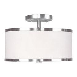 Livex Lighting - Livex Lighting 6366-91 Ceiling Light/Flush Mount Light - Livex Lighting 6366-91 Ceiling Light/Flush Mount Light