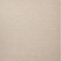 JRCPL - Flat Weave Solid Ivory/ White Wool Rug (2' x 3') - Handwoven from undyed yarn, the cream color and simple design of this flat-weave wool rug will bring softness and warmth to your decor. Its reversible design makes it a versatile accent, while its 100 percent wool construction give it natural beauty.