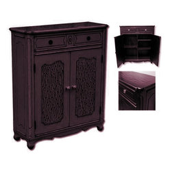 EuroLux Home - New Hall Chest of Drawers Dark Brown Painted - Product Details