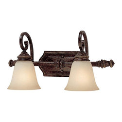 Capital Lighting - Capital Lighting 1522CB-287 2 Light Vanity Fixture - Beginning with design concepts from popular home fashions, they transform their ideas into lighting fixtures that blend timeless beauty with today's styling.