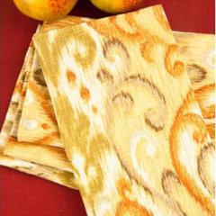 contemporary table linens by The Picket Fence