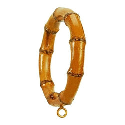 The Merchant Source - 4 in. Compatible Bamboo Design Rings - Set of 4 - Set of 4. Bamboo finish. Made of Resin. 4 in. D (1 lbs.)