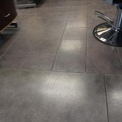 Industrial Salon Floors -
