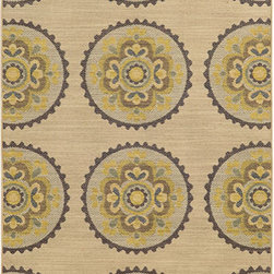 Tommy Bahama Area Rugs - Cabana 501X2 Multi-Color Rectangular: 5 Ft. 3 In. x 7 Ft. 6 In. Rug - - The Cabana collection from Tommy Bahama Home features a line of area rugs beautiful enough for the indoors but durable enough to bring its beauty outdoors. The line boasts an 8-color spaced dyed loop pile for added texture, depth and dimension. Featuring a sophisticated color palette in traditional to global designs, Cabana is the perfect addition to any indoor or outdoor space.  - Construction: Machine Woven  - Material: Polypropylene  - Care Instructions: Spot clean with water and mild soap  - Primary Pattern: Floral  - Pile Height in Inches: 0.31  - Country of Origin: Egypt Tommy Bahama Area Rugs - 748679393602